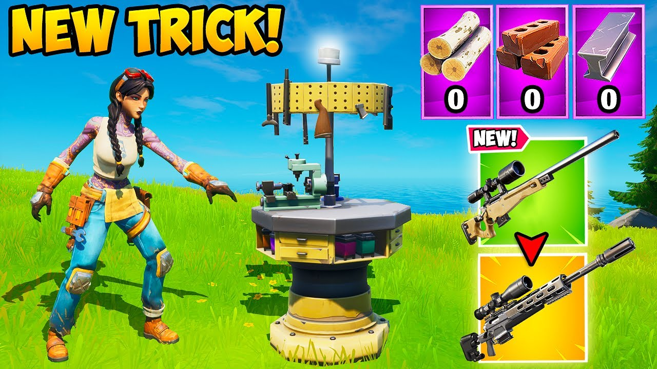 NEW *SUPER OP* UPGRADE TRICK!! -  Fortnite Funny Fails and WTF Moments! #975
