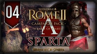 Total War Rome II: Wrath of Sparta ~ Sparta Campaign #4 - Aggressive Spartans!