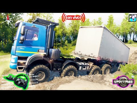 Spintires Mods y Multiplayer Mapa---[] HD