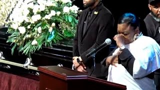 ROXANNE SHANTE SHARES A CHILDHOOD MEMORY WITH BIZ MARKIE AT HIS FUNERAL