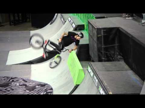 Dew Tour - Chris Hughes Backflip Drop in - Portland BMX Park Semifinals