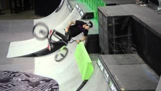 Dew Tour - Chris Hughes Backflip Drop in - Portland BMX Park Semifinals