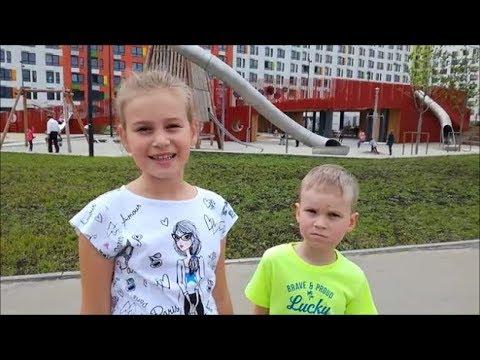 Гигантская детская площадка. Развлечения для детей. Куда пойти с ребенком в Москве.