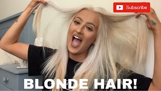 How I Went Completely Blonde At Home Insane Results!