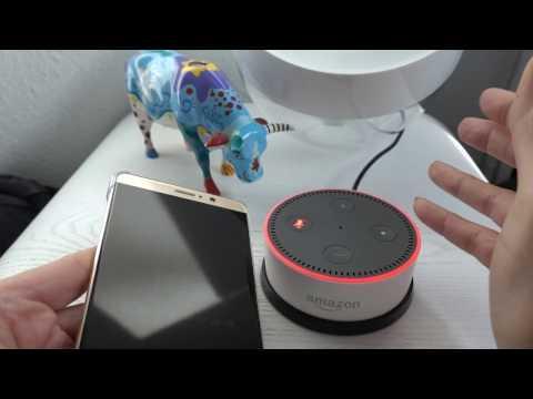 Alexa Echo Dot, wake up with music, little work around