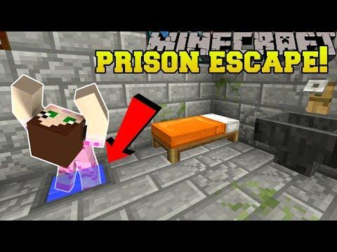 Minecraft: TOILET PRISON ESCAPE! - HIDDEN BUTTONS STORY - Custom Map