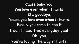 When It Hurts-Lyrics 2012.