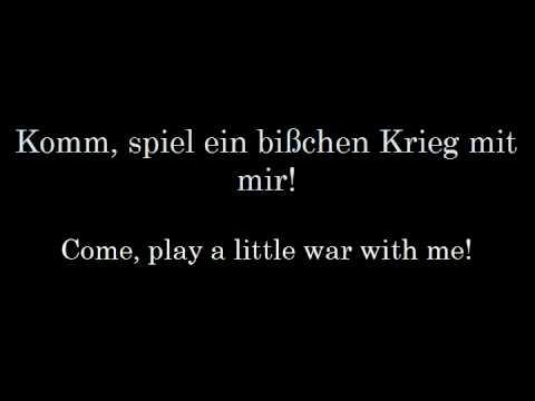 Eisbrechers 'Bombe' (English Lyrics)