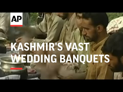 Kashmir's vast wedding banquets concern environmental groups