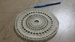 Tığ işi Örgü Sehpa Örtüsü  Part 1 & Dantel Modelleri & Crochet