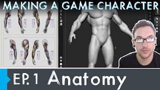 Making a Game Character: Episode 1 - Anatomy Basemesh