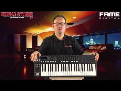 FAME Tweak 49  - USB MIDI Keyboard Controller