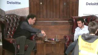 Dominic West Speaks at the Cambridge Union