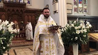 Cu semănatul la Biserica Ortodoxa din Londra