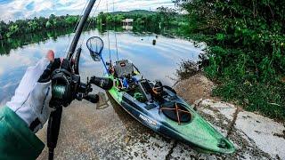 #how to kayak fish