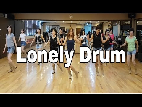 Lonely Drum Line Dance(Improver) Darren Mitchell