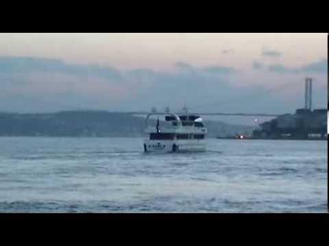 İstanbul Boğazı ve video çekilesi güzellikler...