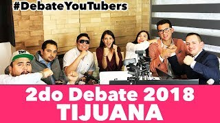 2do Debate Presidencial TIJUANA 2018 - López Obrador, Anaya, Meade - Campechaneando