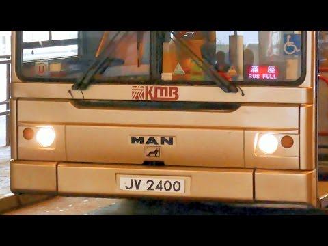 Hong Kong Buses - KMB's rarer double deckers