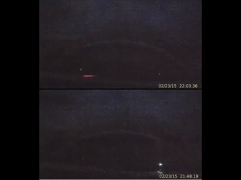 2/24/2015 -- Yellowstone Strange 'Earthquake Lights' + Major Geyser Activity