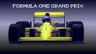 Formula 1 Grand Prix gameplay (PC Game, 1992)