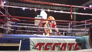 Jose Josesito Ibarra second pro fight at Mexicali