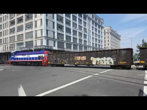 Bush terminal rail fanning