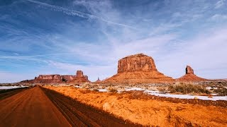 Monument Valley in Winter | Road Trip Through USA