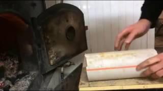 How To Make A Knife Sheath Made From PVC Pipe/Pvc Borudan Bıçak Kılıfı Yapımı