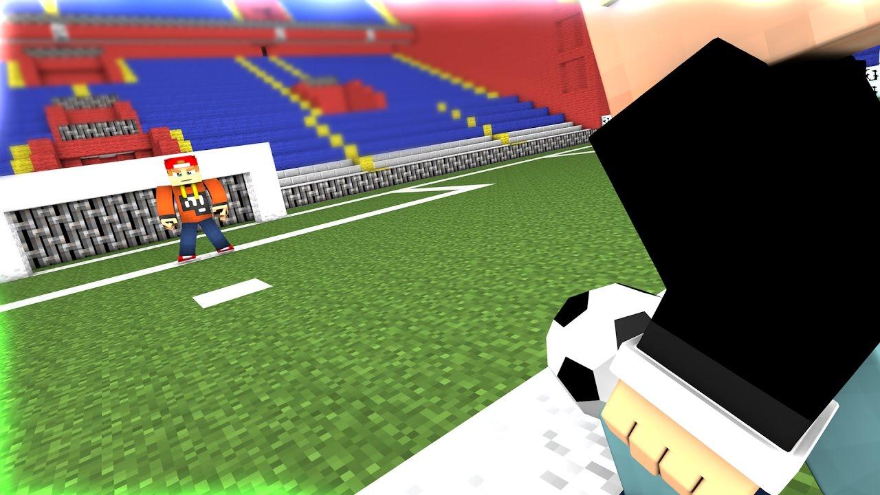 CHAOTEN SPIELEN FUßBALL IN MINECRAFT YouTube - Minecraft fubball spielen deutsch