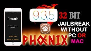 How to jailbreak ios 9.3.5  32 bit  all devices without Pc or  mac !!!!!