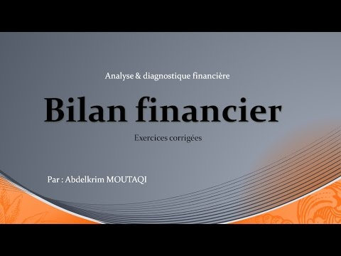 Analyse Financiere ( Bilan Financier )