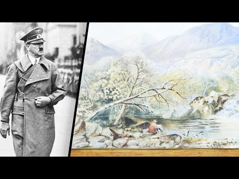 German Police Investigate Art Said to be Painted by Hitler