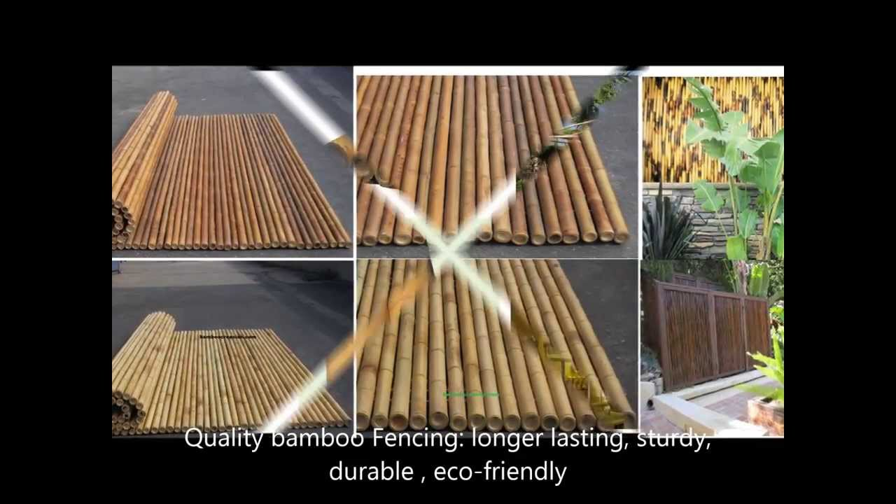 A range of bamboo home styles design prefabricated bamboo