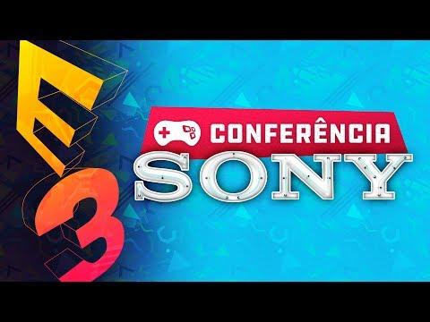 SONY PLAYSTATION - E3 AO VIVO - Conferência em Português - TecMundo Games