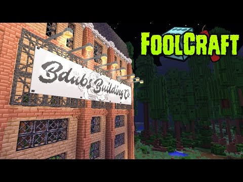 FoolCraft Modded Minecraft :: Building with Bdubs Billboard! 25