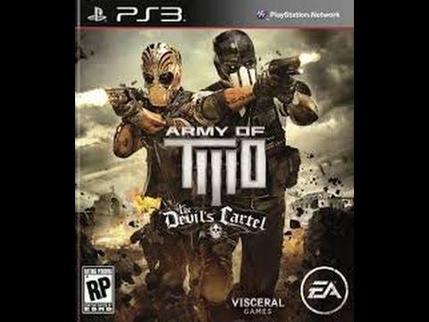 تختيم لعبة Army Of Two The Devils Cartel المرحلة 1 Ps3 Youtube