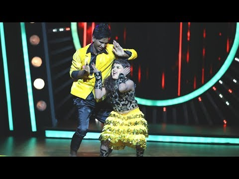 D4 Junior Vs Senior I The cute girl Prithvi I Mazhavil Manorama