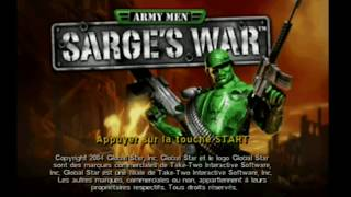 "[Ps2] Introduction du jeu ""Army Men : Sarge"