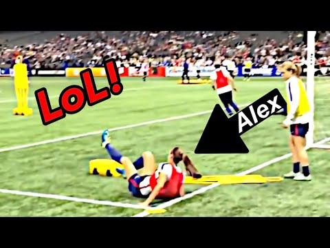 Funny Soccer Moments | Alex Morgan