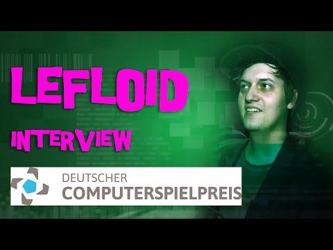 INTERVIEW: LeFloid zum DCP 2016, VR und Youtube - Deutscher Computerspielpreis 2016 München