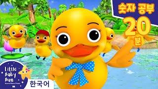 오리 세기 송   인기 동요   리틀 베이비 범 Lit…