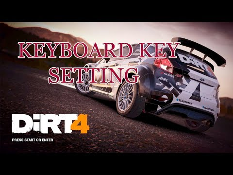 Dirt4 - Keyboard Steering Key Setting And Gameplay Pc 2017