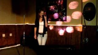Me singing Pearl jam last kiss karaoke