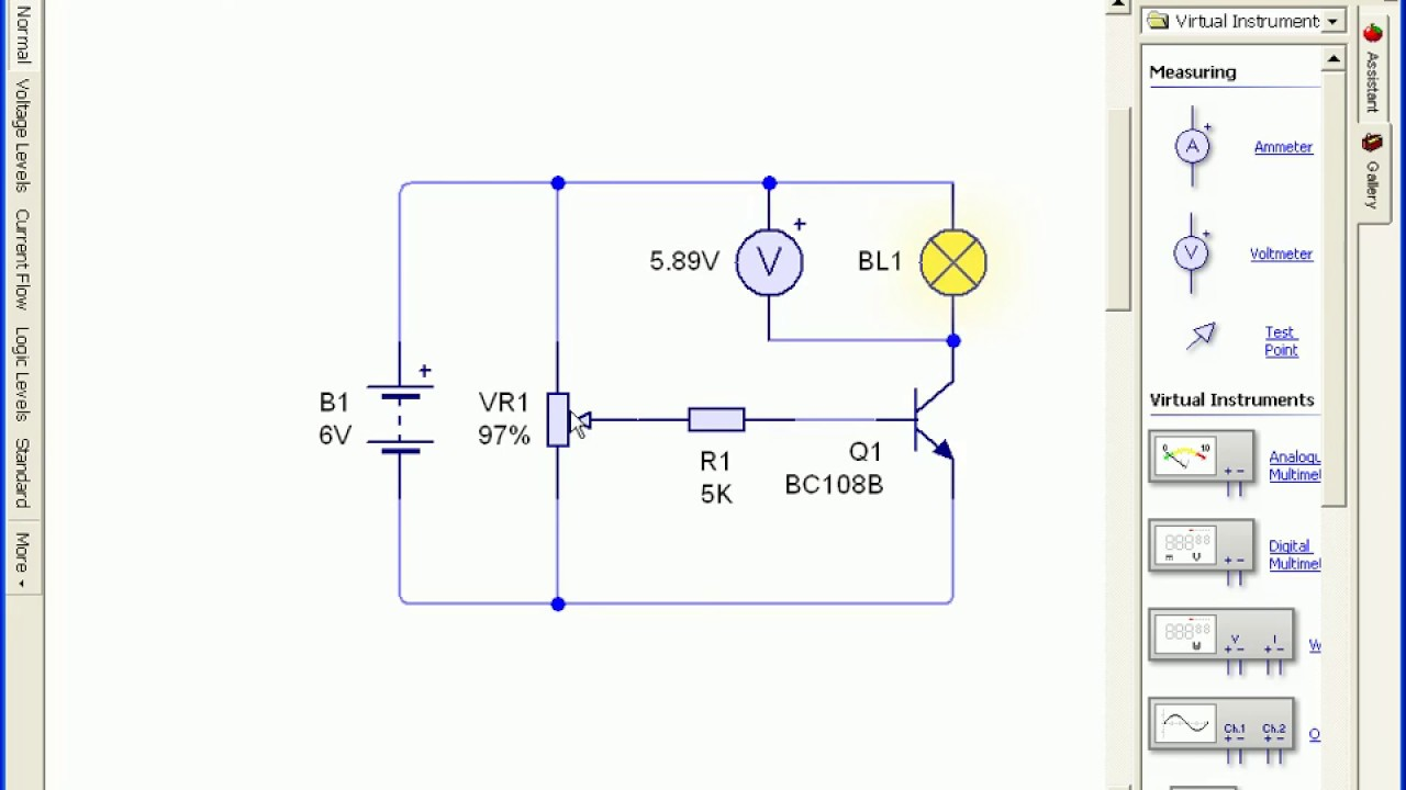 Light Dimmer Circuit Dimmer Switch Potentiometer