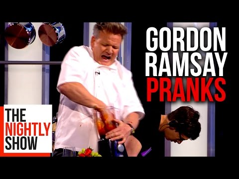 All of Gordon Ramsays Best Pranks | COMPILATION