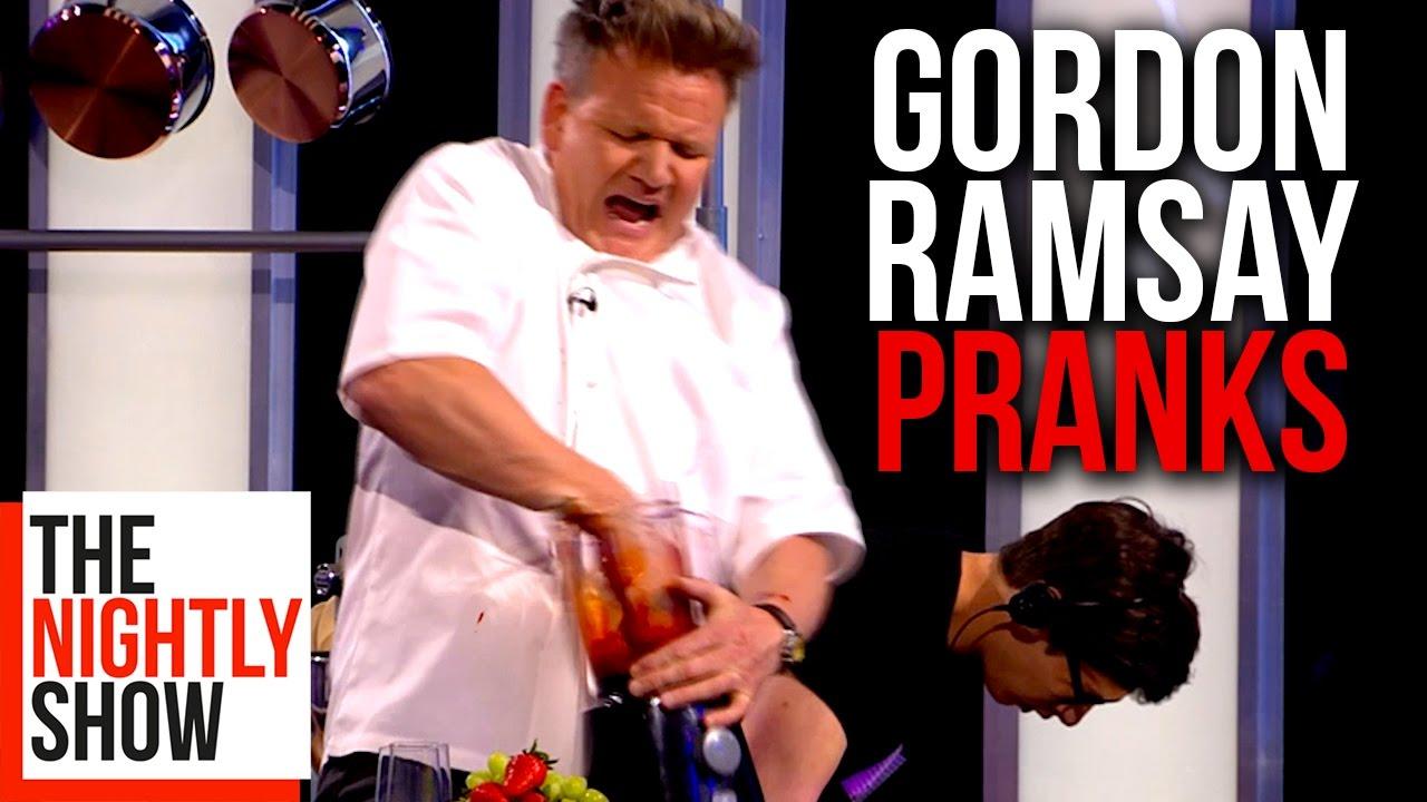 Download All of Gordon Ramsay's Best Pranks   COMPILATION