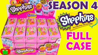 Shopkins Season 4 FULL CASE 30 Crates Baskets with 8 Ultra Rare Finds