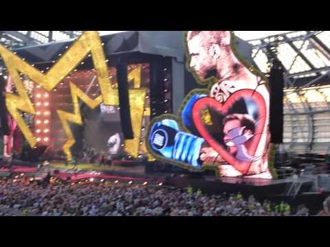 Robbie Williams   Motherfucker   The Aviva   Dublin 17/6/17