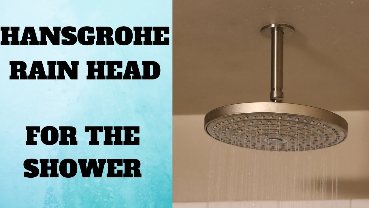 How To Install A Rain Shower Head In The Ceiling.Rain Shower Head Installation From Ceiling Hansgrohe Shower Head